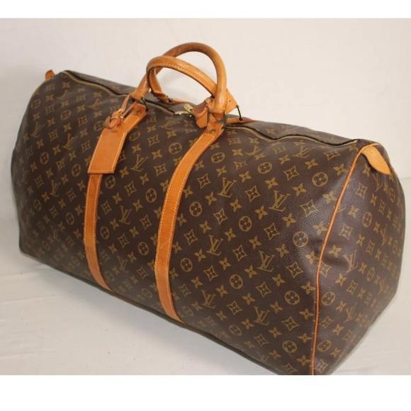 Louis Vuitton Handbags - Louis Vuitton Keepall 60 Duffle Bag Gym Travel
